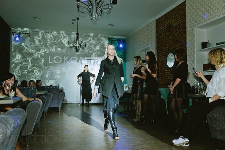 Показ коллекции одежды бутика Чöрная икра в Баре №60 Пенза
