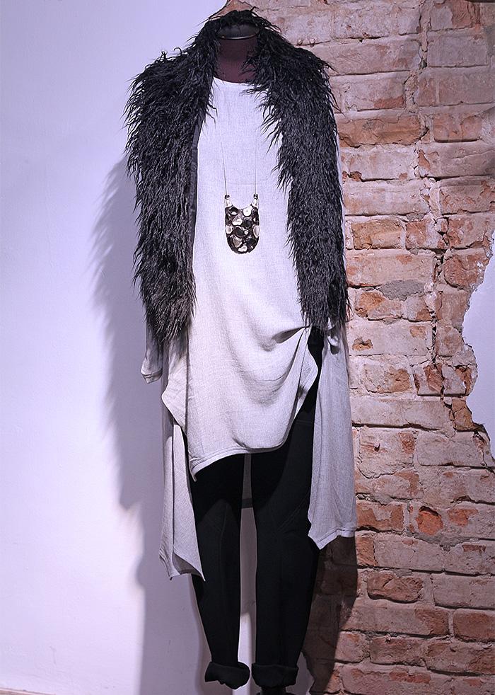 Туника и брюки SORAYA AZIZI в Чöрной икре