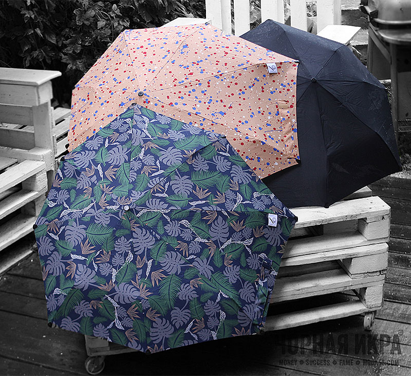 Зонты от Компании senz° в Чöрной икре. Пенза