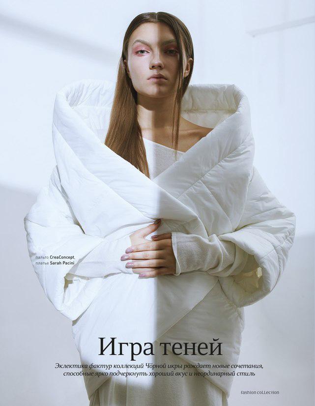 пальто CreaConcept, платье Sarah Pacini