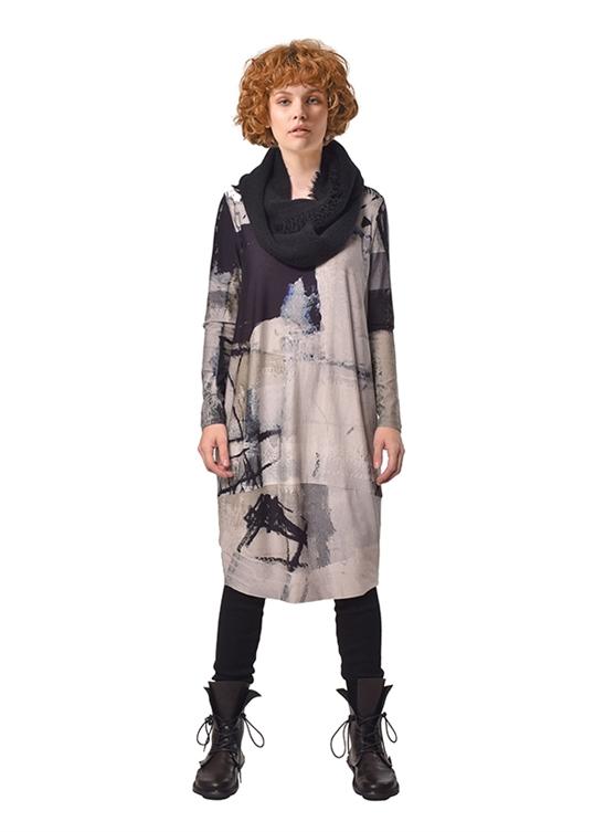 Купить Платье Crea Concept в Чöрной икре